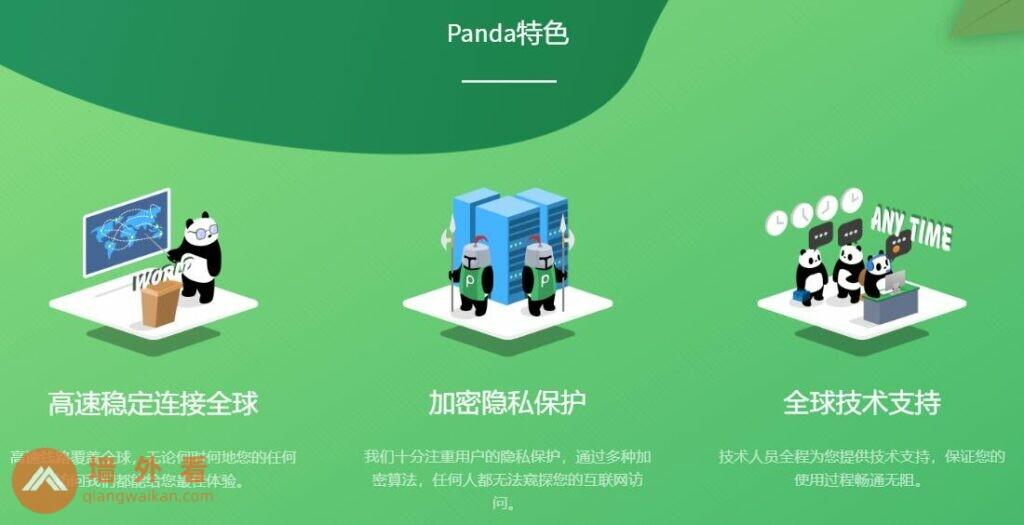 PandaVPN翻墙回国