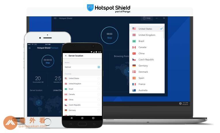 Hotspot Shield官网