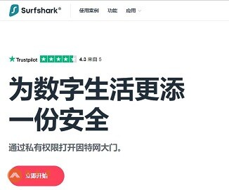 Surfshark VPN官网
