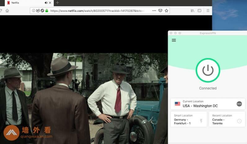 ExpressVPN美国服务器解锁美区Netflix