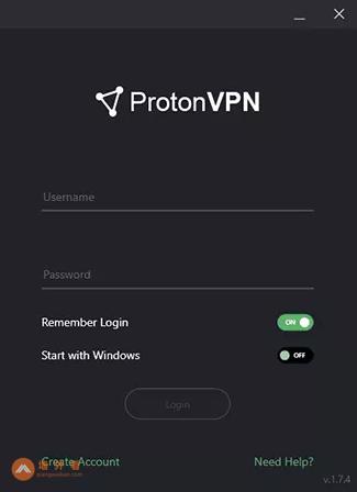 Proton VPN登录