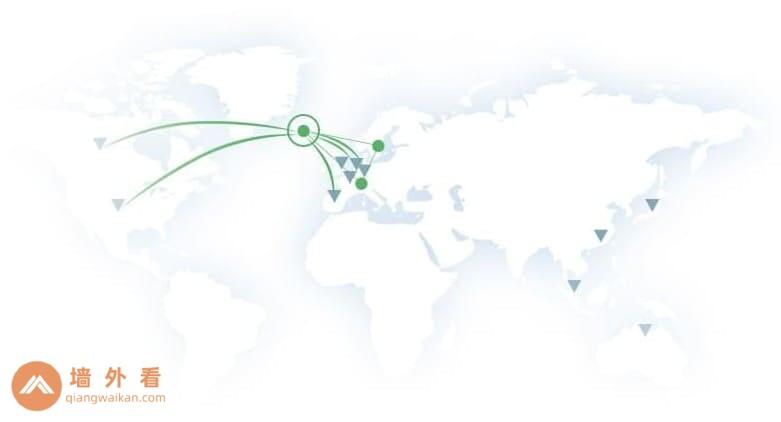 Proton VPN的服务器网络