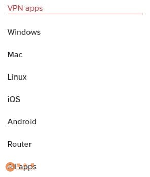 ExpressVPN帐户中的设备