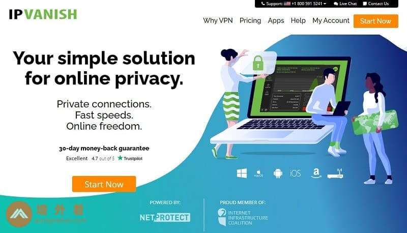 IPVanish官網