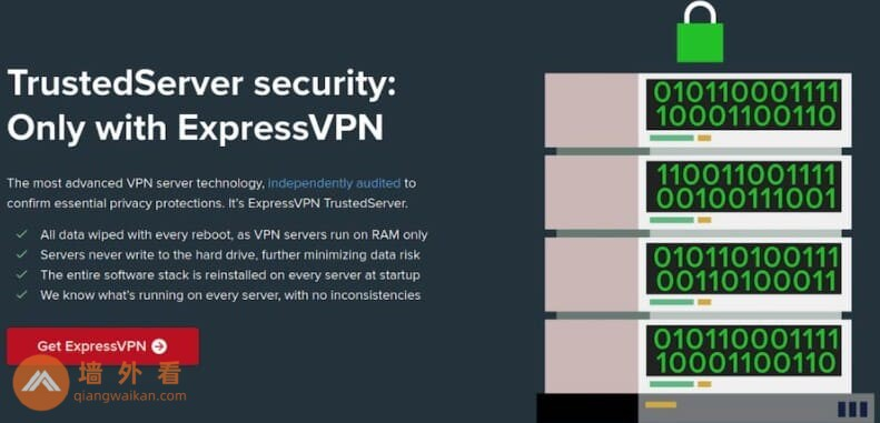 ExpressVPN的TrustedServer功能