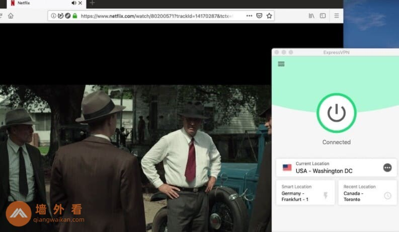 ExpressVPN访问Netflix