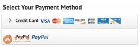 IPVanish的付款方式
