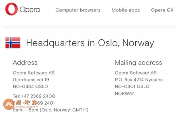 谁拥有opera vpn