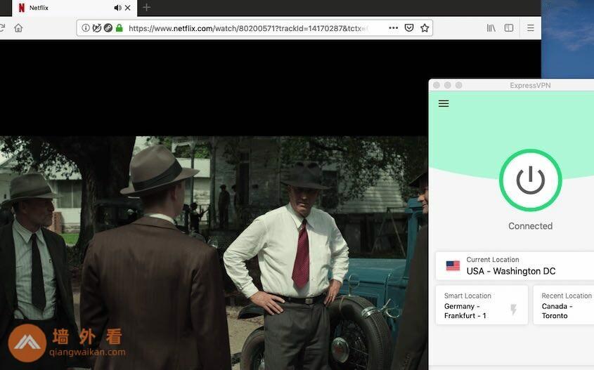 ExpressVPN解锁Netflix